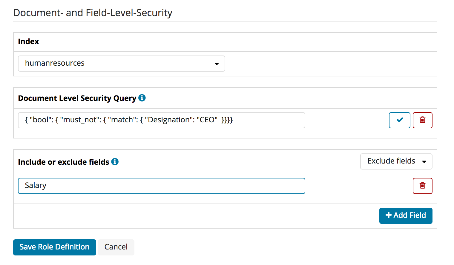 Configuration GUI | Elasticsearch Security | Search Guard